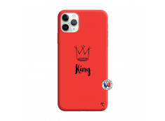 Coque iPhone 11 PRO King Silicone Rouge