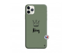 Coque iPhone 11 PRO King Silicone Vert