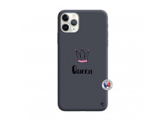 Coque iPhone 11 PRO Queen Silicone Navy