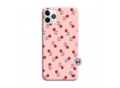 Coque iPhone 11 PRO Rose Pattern Silicone Rose