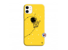 Coque iPhone 11 Astro Boy Silicone Jaune
