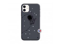 Coque iPhone 11 Astro Boy Silicone Navy