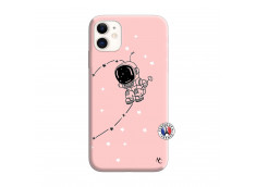 Coque iPhone 11 Astro Boy Silicone Rose