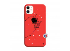 Coque iPhone 11 Astro Boy Silicone Rouge