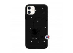 Coque iPhone 11 Astro Girl Silicone Noir
