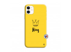 Coque iPhone 11 King Silicone Jaune