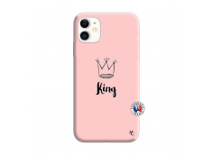 Coque iPhone 11 King Silicone Rose