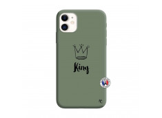 Coque iPhone 11 King Silicone Vert