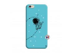 Coque iPhone 6/6S Astro Boy Silicone Bleu