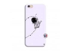 Coque iPhone 6/6S Astro Boy Silicone Lilas