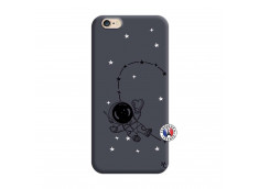 Coque iPhone 6/6S Astro Girl Silicone Navy