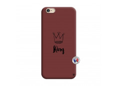Coque iPhone 6/6S King Silicone Bordeaux