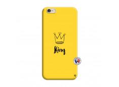 Coque iPhone 6/6S King Silicone Jaune