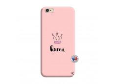 Coque iPhone 6/6S Queen Silicone Rose