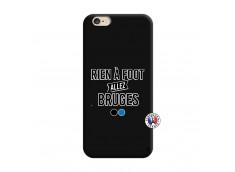 Coque iPhone 6/6S Rien A Foot Allez Bruges Silicone Noir