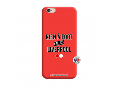 Coque iPhone 6/6S Rien A Foot Allez Liverpool Silicone Rouge