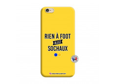 Coque iPhone 6/6S Rien A Foot Allez Sochaux Silicone Jaune