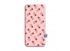 Coque iPhone 6/6S Rose Pattern Silicone Rose