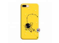 Coque iPhone 7 Plus/8 Plus Astro Girl Silicone Jaune