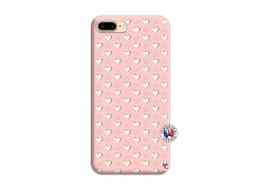 Coque iPhone 7 Plus/8 Plus Little Hearts Silicone Rose
