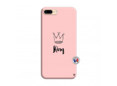 Coque iPhone 7 Plus/8 Plus King Silicone Rose