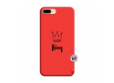 Coque iPhone 7 Plus/8 Plus King Silicone Rouge