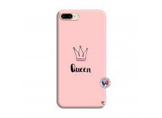 Coque iPhone 7 Plus/8 Plus Queen Silicone Rose