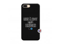 Coque iPhone 7 Plus/8 Plus Rien A Foot Allez Bruges Silicone Noir