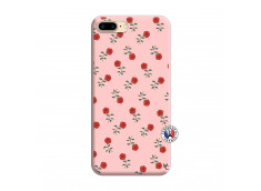 Coque iPhone 7 Plus/8 Plus Rose Pattern Silicone Rose