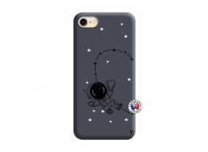 Coque iPhone 7/8 Astro Girl Silicone Navy