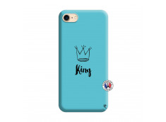 Coque iPhone 7/8 King Silicone Bleu