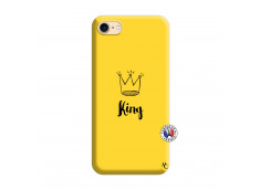 Coque iPhone 7/8 King Silicone Jaune