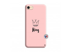 Coque iPhone 7/8 King Silicone Rose