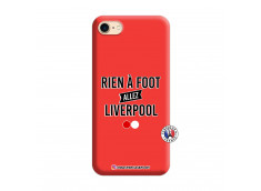 Coque iPhone 7/8/SE 2020 Rien A Foot Allez Liverpool Silicone Rouge