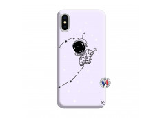 Coque iPhone X/XS Astro Boy Silicone Lilas
