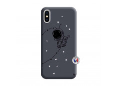 Coque iPhone X/XS Astro Boy Silicone Navy