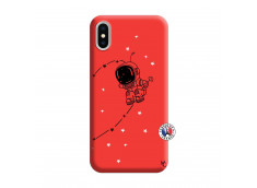 Coque iPhone X/XS Astro Boy Silicone Rouge