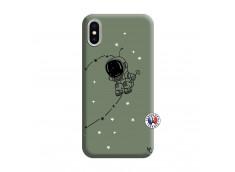Coque iPhone X/XS Astro Boy Silicone Vert