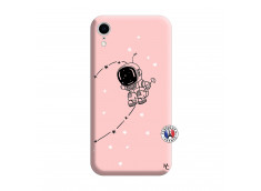 Coque iPhone XR Astro Boy Silicone Rose