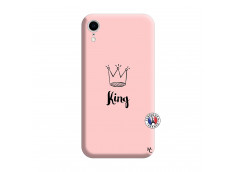 Coque iPhone XR King Silicone Rose