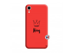 Coque iPhone XR King Silicone Rouge