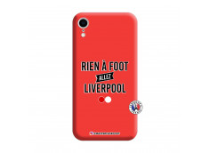 Coque iPhone XR Rien A Foot Allez Liverpool Silicone Rouge