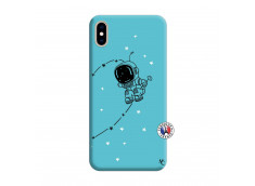 Coque iPhone XS MAX Astro Boy Silicone Bleu