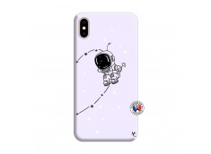 Coque iPhone XS MAX Astro Boy Silicone Lilas