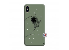 Coque iPhone XS MAX Astro Boy Silicone Vert