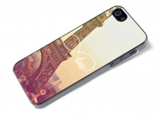 Coque iPhone 5/5S Infinity Love- Paris