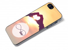 Coque iPhone 5/5S Infinity Love- Heart
