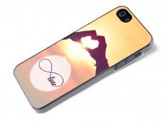 Coque iPhone 5/5S Infinity Love- Heart