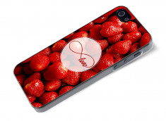Coque iPhone 5/5S Infinity Love- Strawberry