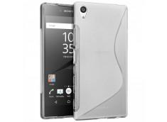 Coque Sony Xperia E5 Silicone Grip-Translucide